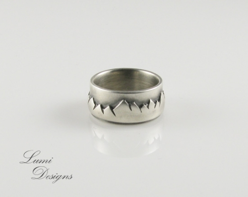 Ring 'In Highs and Lows' with sterling silver (925)