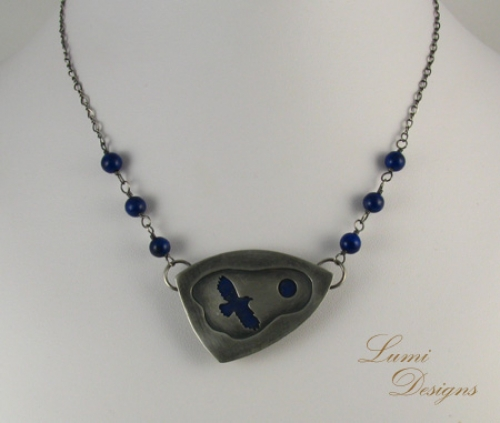 necklace 'Flight of an Eagle'