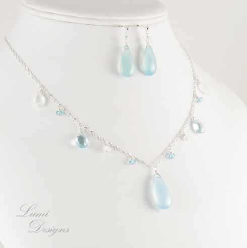 Jewellery Set 'Summer Rain'