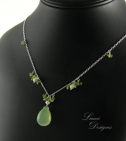 Necklace 'Forest Fairy'