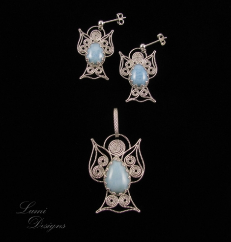 Jewellery Set 'Angels'